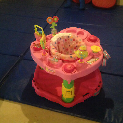 Evenflo Active Learning Centers Exersaucer 1-2-3 Tea for Me