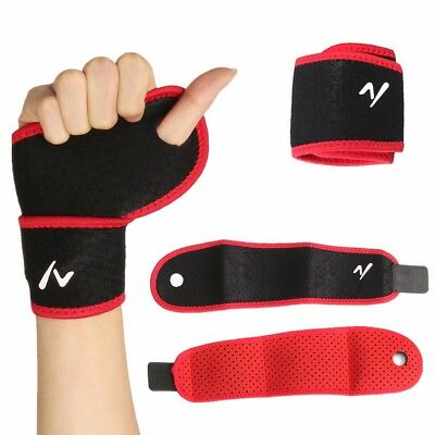 2x Elbow Brace Support Arm Band Pads Wraparound Compression Tennis Guard Elastic