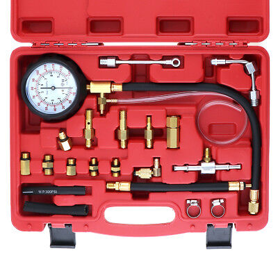 0~140PSI Compression Fuel Injection Pressure Auto Diagnostic Tester Tools Kit