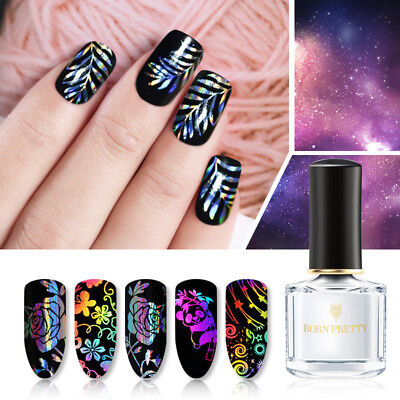 BORN PRETTY 6ml Nail Art Glue Decal Adhesive for Transfer Foil Sticker