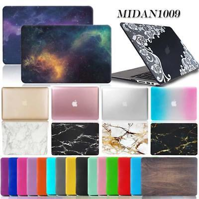 Rubberized Hardshell MacBook Case Cover For Apple MacBook air Pro 11 13 15 inch