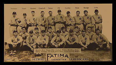 1913 Detroit Tigers Team Picture Ty Cobb Baseball Team Print