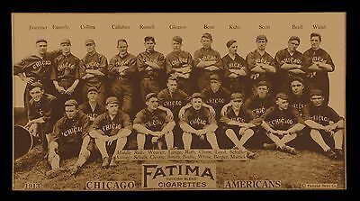 1913 Chicago White Sox Baseball Team Picture