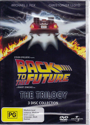 BACK TO THE FUTURE The Trilogy DVD R2/4 NEW / Sealed - PAL   SirH70
