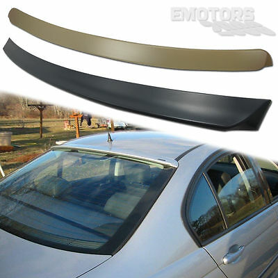 For BMW E46 3-SERIES 4DR SALOON A TYPE ROOF + TRUNK BOOT SPOILER 330xi 325i 2005
