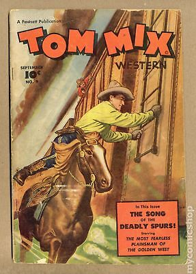 Tom Mix Western (Fawcett) #9 1948 GD+ 2.5