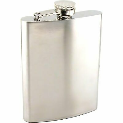 Stainless Steel Hip Flask 8oz Alcohol Licquor Pocket Whiskey Container