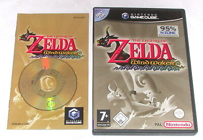 "Gamecube Spiel "" The Legend Of Zelda The Windwaker "" Komplett"
