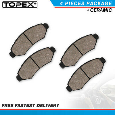 Front Ceramic Brake Pads Kit for Enclave Colorado Traverse Acadia Canyon Outlook