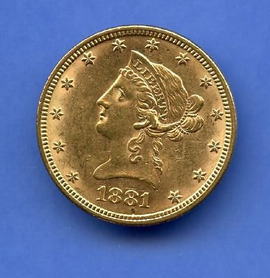 USA 10 Dollars 1881 Stgl Gold