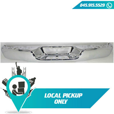 Local Pickup 2007-2013 Fits Toyota Tundra Rear Bumper Face Bar Chrome To1102244