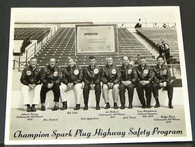 "Vintage ""champion Spark Plug Highway Program Participants"" / 1950's / 10-8A"