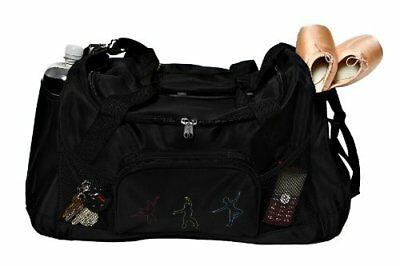 Horizon Dance 4732 Center Stage Large Black Duffel Bag - New Lining