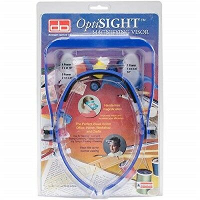 Optisight Magnifying Visor-royal Blue - Visorroyal Donegan