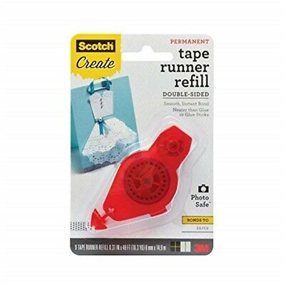 Scotch Tape Runner Refill, .31 In x 16.3 Yd (055-r-cft) - Adhesive Dot Roller