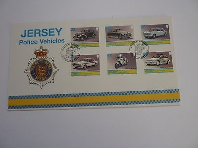 Jersey Police Vehicles 2002 FDC