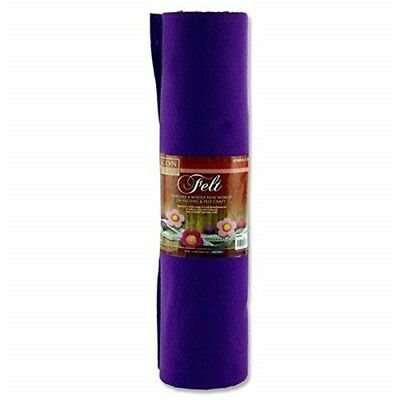 Icon Craft 45cm X 5m Roll Felt - Purple