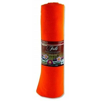 Icon Craft 45cm X 5m Roll Felt - Orange