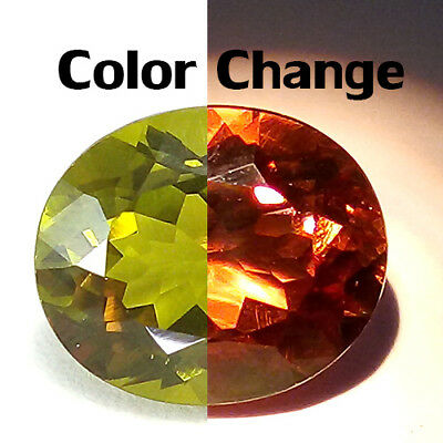 5.83 Cts Top Clean Public Favorite Color Change Natural Turkish Diaspore