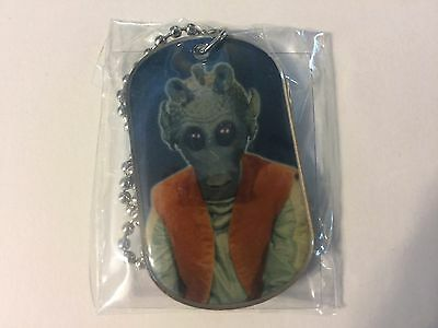 2011 Topps Star Wars Dog Tags #24 Greedo > Bounty Hunter > Necklace