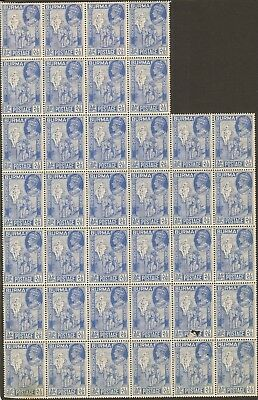 Burma GVI 1946 Victory issue x (5) MNH part sheets some with faults.