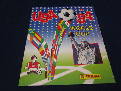 Panini WM WC WK 1994 USA 94, Leeralbum/empty album, Swiss Schweiz version, MINT