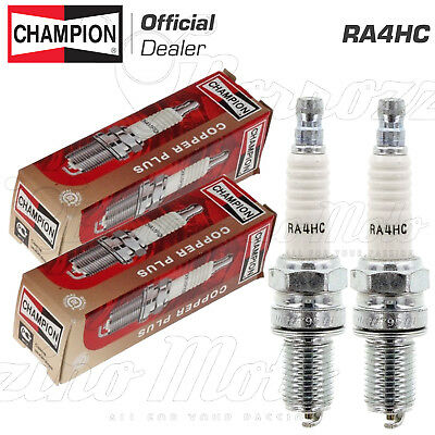 Kit 2 Candele Champion Ra4Hc Ducati Monster 600 1997 -