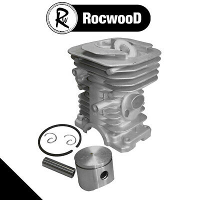 Cylinder And Piston Assembly Fits Husqvarna 141 And 142 Chainsaw