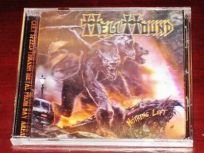 Hellhound: Nothing Left - Limited Edition CD 2016 Stormspell USA SSR-DL184 NEW