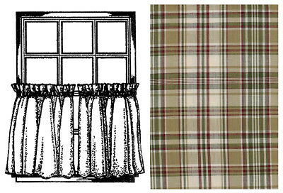 """Window Curtain Tier Pair 36"""" - Thyme by Park Designs"""
