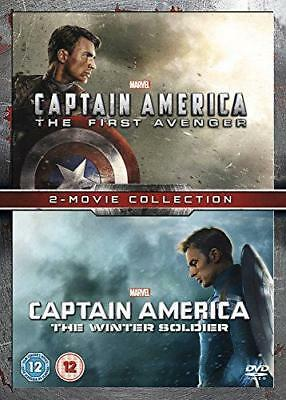 Captain America/Captain America: The Winter Soldier Double Pack [DVD], Very Good