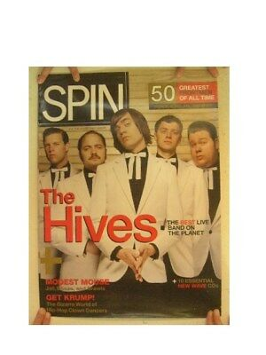 The Hives Poster Spin Magazine