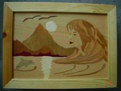 Inlaid picture - Scenery