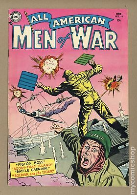 All American Men of War #14 1954 VG+ 4.5