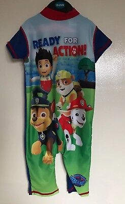 BNWT Boys Paw Patrol UV All In One Sun Swimming Suit. Age 18-24 Months