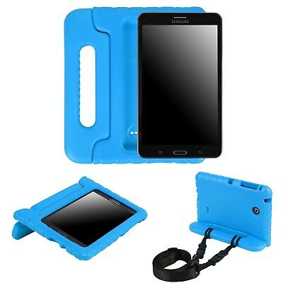 Kids Case for Samsung Galaxy Tab 4 7.0 Inch Handle Stand w/Shoulder Strap