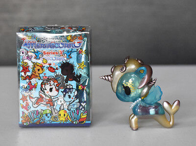 Seychelles Mermicorno Series 3 TOKIDOKI Mini Vinyl Figure New with Box/Foil