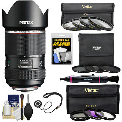 Pentax HD DA 645 28-45mm f/4.5 ED AW SR Zoom Lens & Filters Bundle