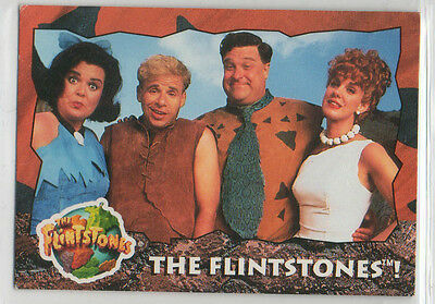 The Flintstones Movie - 99 Card and Sticker Complete Base Set EX Topps 1993