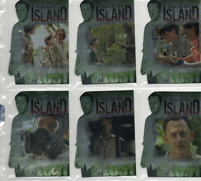 LOST Season 3 - 6-card Ties To The Island Chase Set EX Inkworks 2007