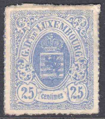 Luxembourg 22A Unused Vf $1,100 Scv For No Gum