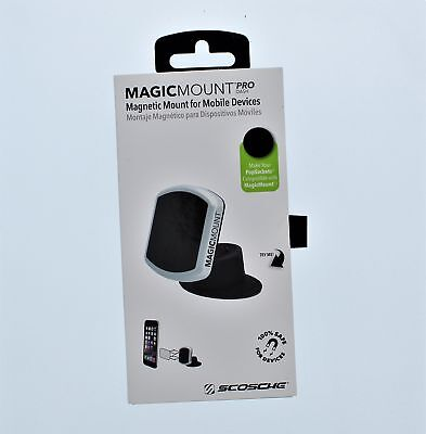 Scosche Magic Mount Pro Dash Magnetic Mount For Mobile Devices-N.O.