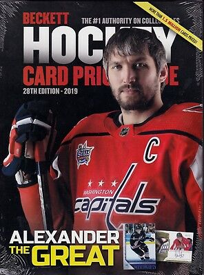 2019 Beckett Hockey Annual Price Guide  sealed copy Alexander Ovechkin Cover