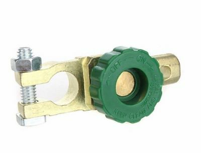 Auto Battery Terminal Disconnect Switch Link Brass Universal All Batteries