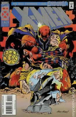 X-Men (1st Series) #41A 1995 Kubert Cards Included Variant FN Stock Image