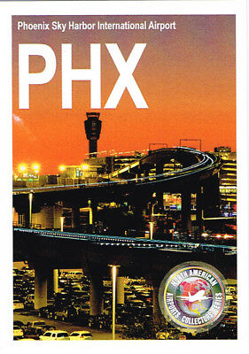 PHX-002 Airport Trading Card Phoenix Sky Harbor International Arizona