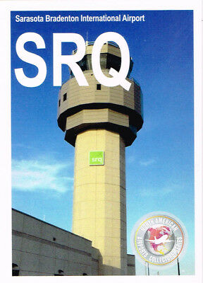 SRQ-002 Collectible Airport Trading Card Sarasota Bradenton International