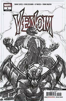 Venom #1 5Th Printing Ryan Stegman Pencils Variant Donny Cates Sold Out