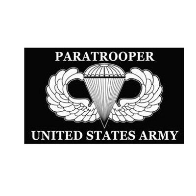 Us Army Paratrooper Airborne Flag 3 X 5 Feet Polyester