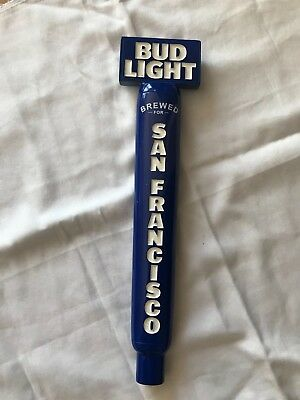 Bud Light Brewed for San Francisco - Beer Tap Handle - Baseball Design - NEW
